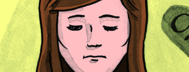 Bladder Cancer Comic: Meditation image