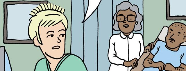 Bladder Cancer Comic: Prescription Pick-Up Decisions image