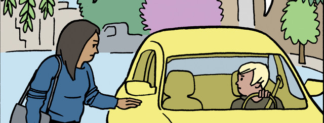 Bladder Cancer Comic: Rides to Appointments image