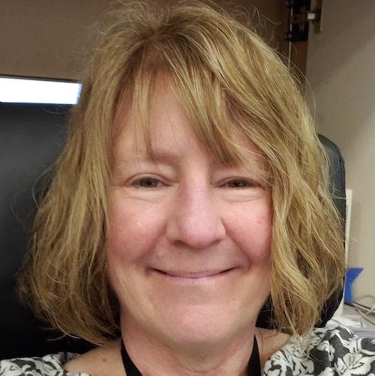Annemarie smiles for a selfie