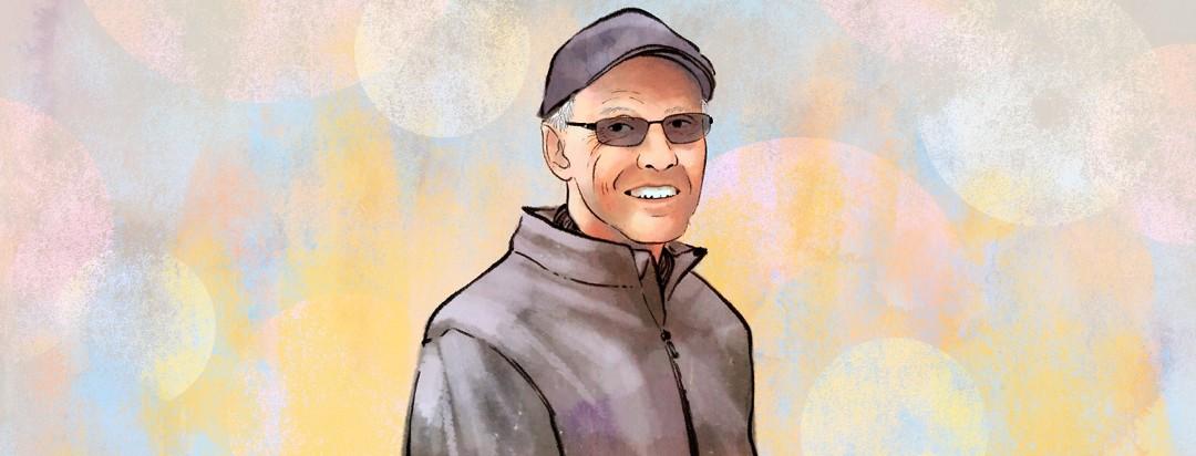 A portrait of the interviewee, Jim Erickson.
